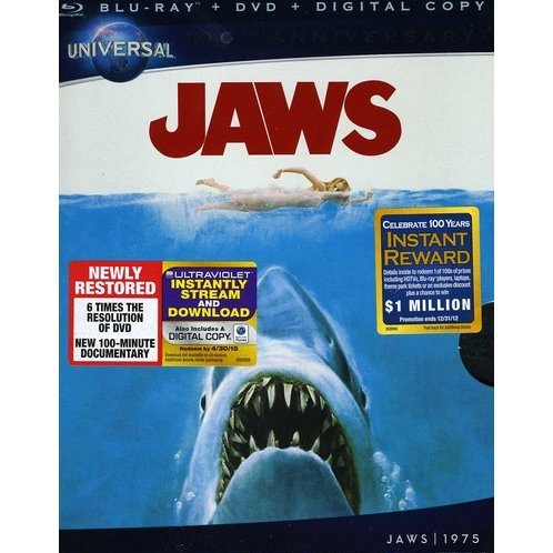 Jaws [Blu-ray+DVD+Digital Copy+UltraViolet]
