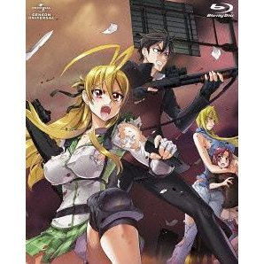 Highschool Of The Dead Blu-ray Box [Blu-ray+CD Limited Edition]