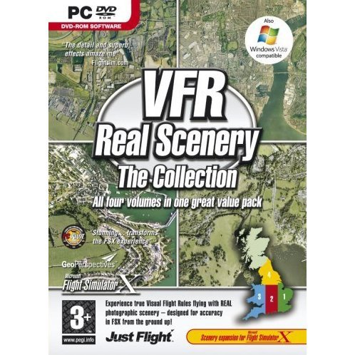 VFR Real Scenery - The Collection (DVD-ROM)