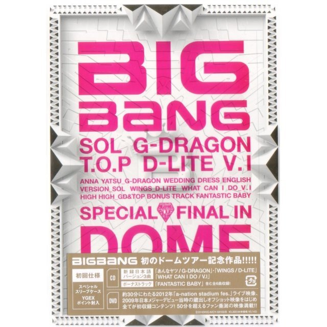 Special Final In Dome Memorial Collection [CD+DVD]