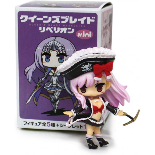 Queens Blade Rebellion Mini Trading Figure