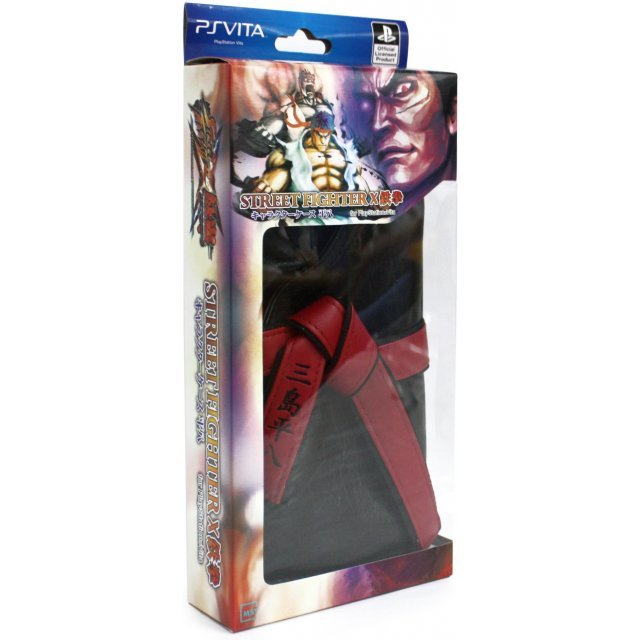Street Fighter x Tekken Character Case Heihachi Version (Black)