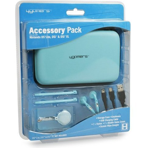 4Gamers Accessories Pack (Blue)