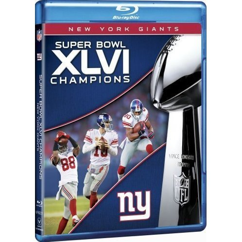 NFL Super Bowl XLVI Champions: New York Giants