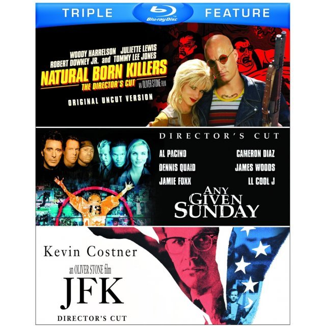 Natural Born Killers / Any Given Sunday / JFK