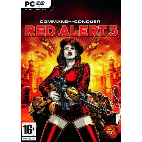 Command & Conquer: Red Alert 3 (DVD-ROM)