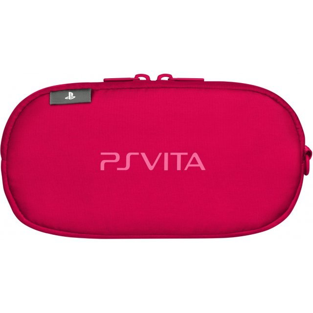 PSVita PlayStation Vita Carrying Pouch (Red)