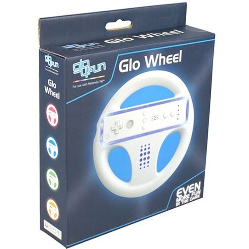 Glo 4 Fun: Wii Wheel (Blue)