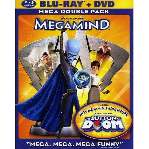 Megamind [Blu-ray+DVD]