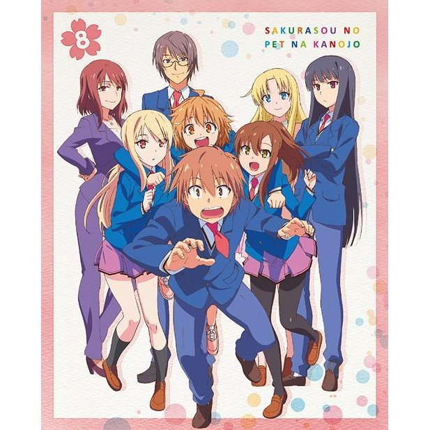 Sakurasou No Pet Na Kanojo Vol.8
