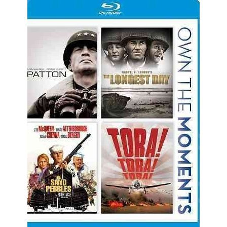 Patton / The Longest Day / The Sand Pebbles / Tora
