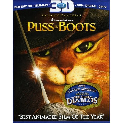 Puss in Boots 3D/2D