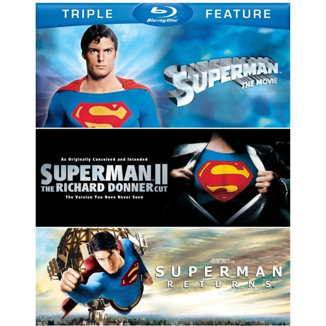 Superman The Movie / Superman II / Superman Returns (Triple Feature)