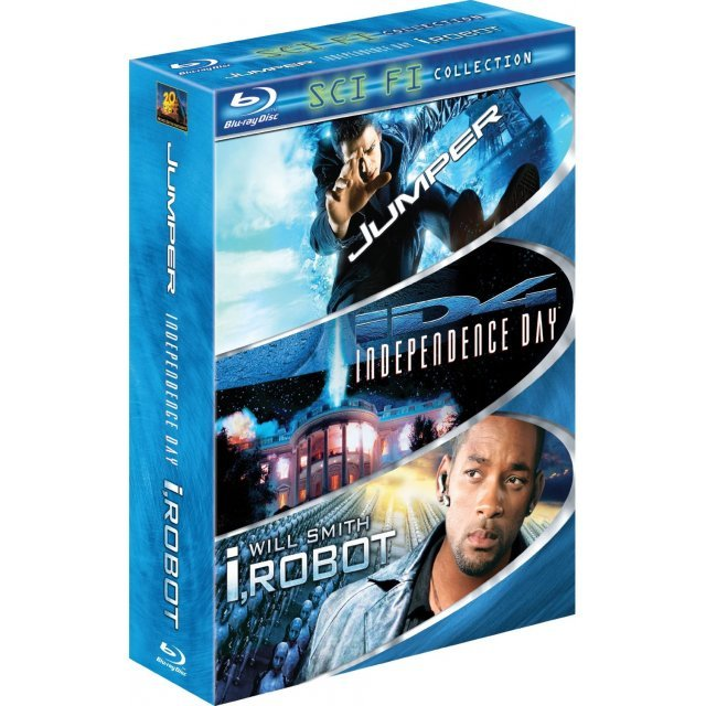 Sci-Fi 3 Pack (Jumper / Independence Day / I, Robot)