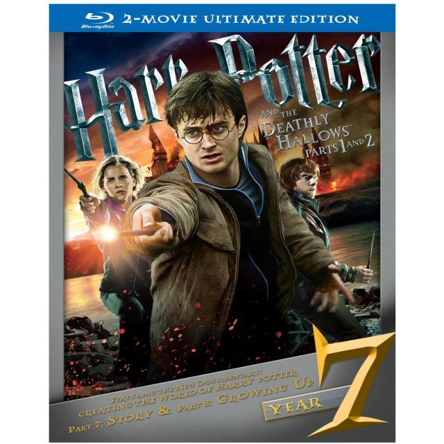 Harry Potter and the Deathly Hallows Part 1 and 2 (Ultimate Edition)