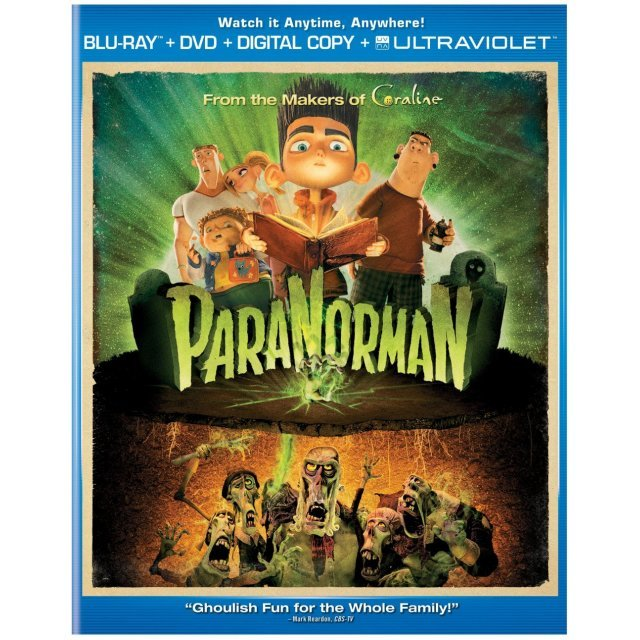 ParaNorman [Blu-ray+DVD+Digital Copy+UltraViolet]