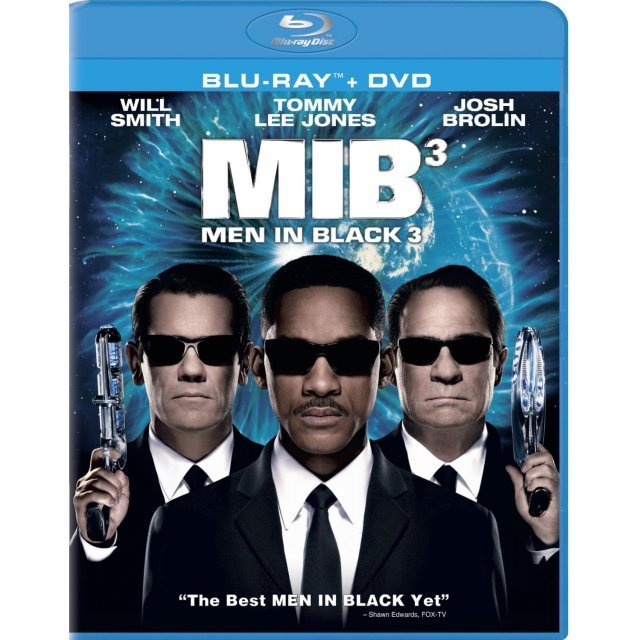 Men in Black 3 [Blu-ray+DVD+UltraViolet Digital Copy]