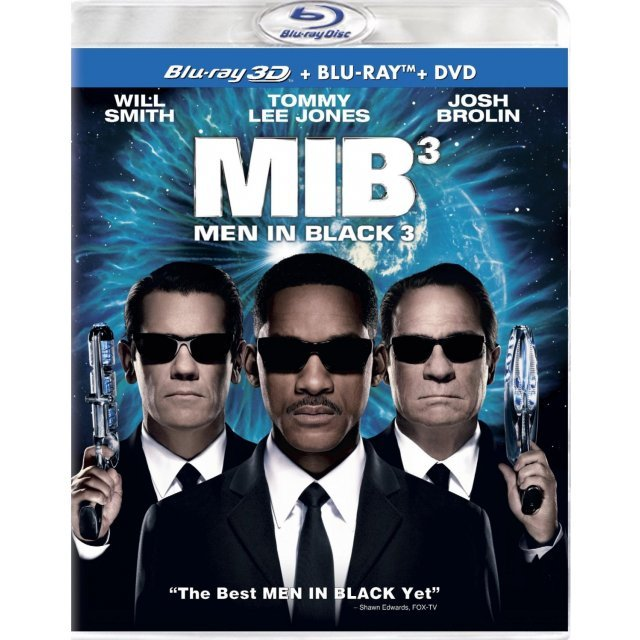 Men in Black 3 3D [Blu-ray 3D+Blu-ray+DVD+UltraViolet Digital Copy]
