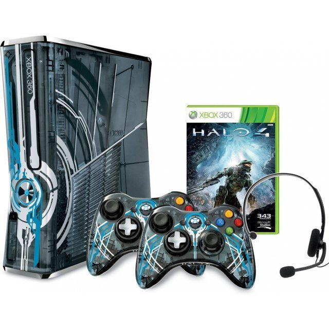 Xbox 360 Slim Console (320GB) Halo 4 Limited Edition