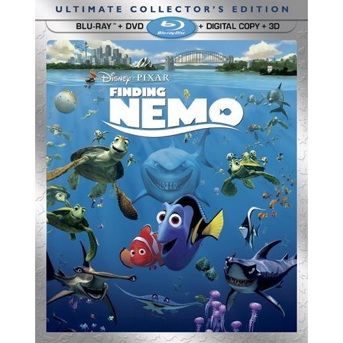 Finding Nemo 3D [Ultimate Collector's Edition: 5-Disc Combo Pack]