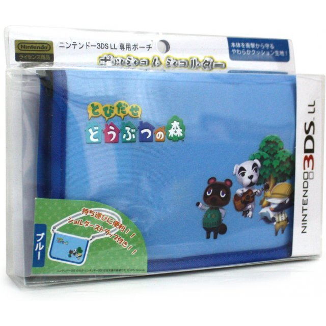 Dobutsu No Mori Possum Shoulder Bag for 3DS LL (Blue)