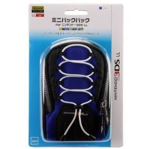 Mini Backpack for 3DS LL (Blue)