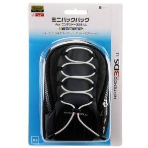 Mini Backpack for 3DS LL (Grey)