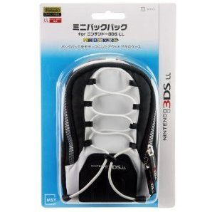 Mini Backpack for 3DS LL (White)