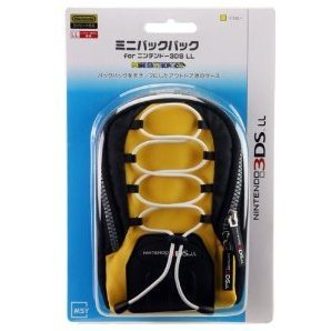 Mini Backpack for 3DS LL (Yellow)