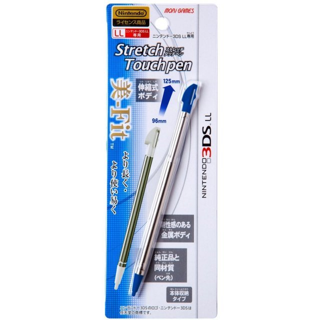 Stretch Touch Pen for 3DS LL (Blue)