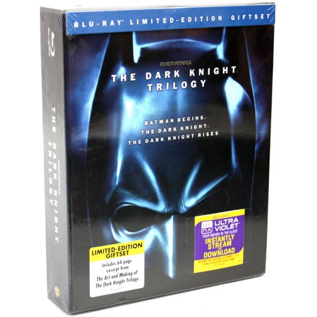 The Dark Knight Trilogy [5-Disc Limited Edition Gift Set]