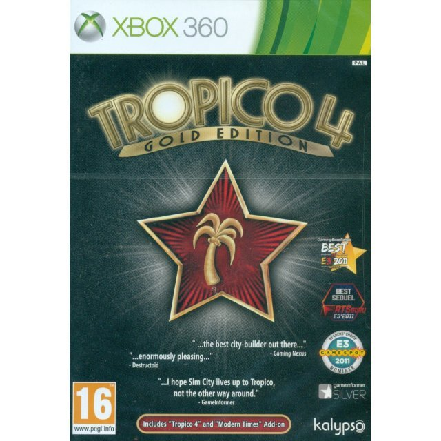 Tropico 4: Gold Edition
