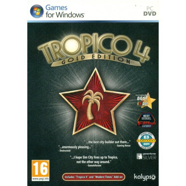 Tropico 4: Gold Edition (DVD-ROM)