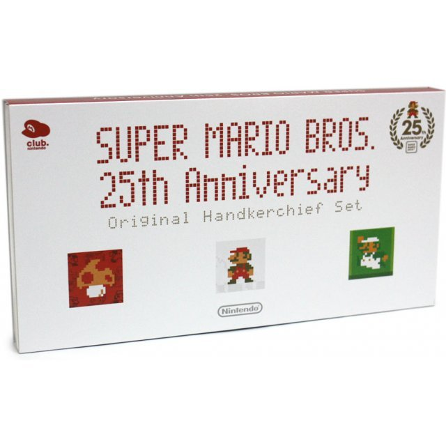 Club Nintendo Original Handkerchief Set (Platinum Member Limited Edition)