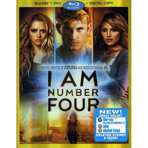 I Am Number Four [Blu-ray DVD+Digital Copy]