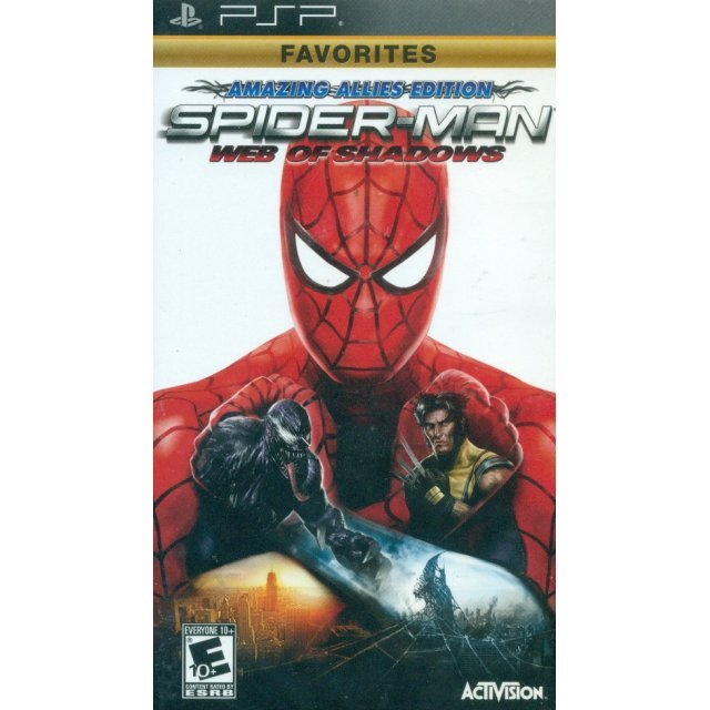 Spider-Man: Web of Shadows (Favorites)