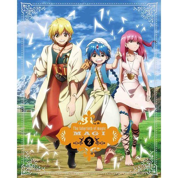 Magi The Labyrinth Of Magic 2 [DVD+CD Limited Edition]