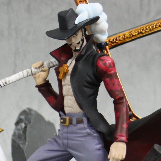 One Piece Banpresto Figure Colosseum Pre-Painted PVC Figure: Mihawk