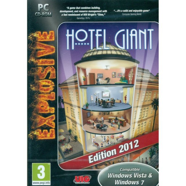 Hotel Giant 2012 Gold Edition (DVD-ROM)