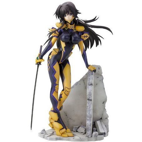 Muv-Luv Alternative Total Eclipse 1/7 Scale Pre-Painted PVC Figure: Takamura Yui Eishi Strengthening Equipment