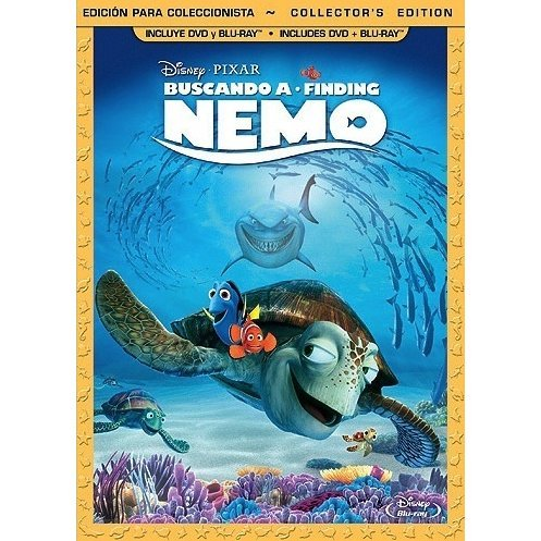 Finding Nemo (Spanish Version) [Collector's Edition: 3-Disc Combo Pack]