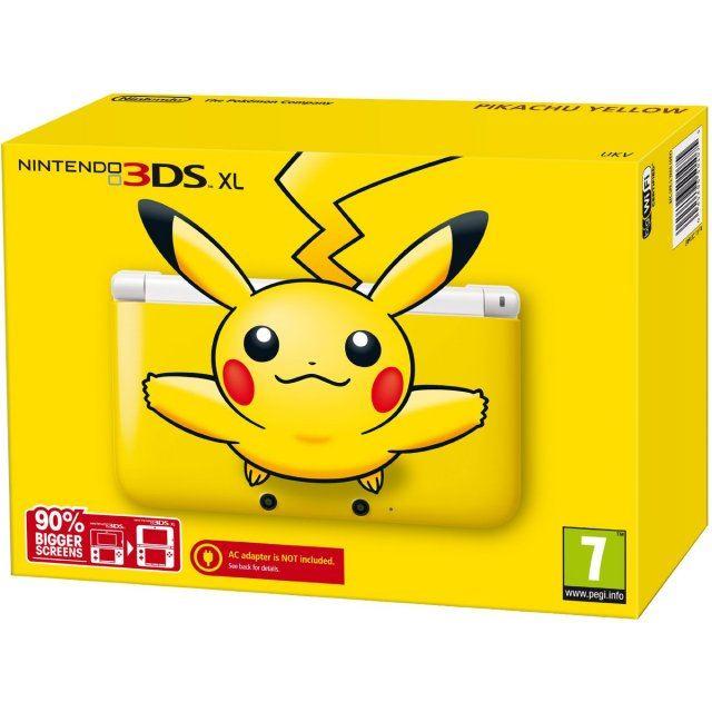 Nintendo 3ds xl pikachu yellow edition for 3ds xl pikachu achat