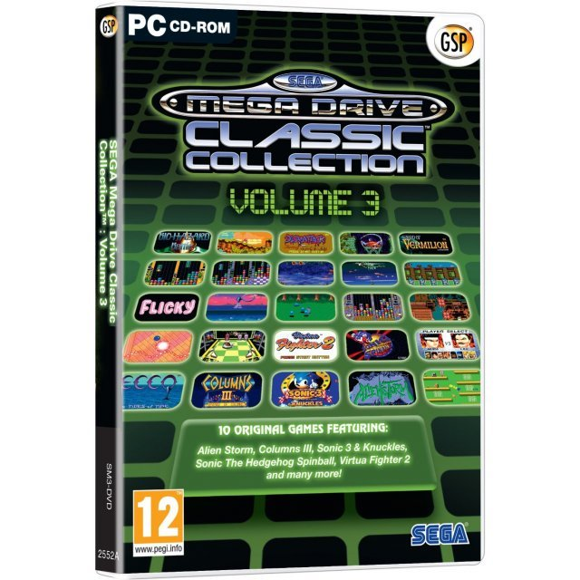 Sega Mega Drive Classic Collection - Volume 3