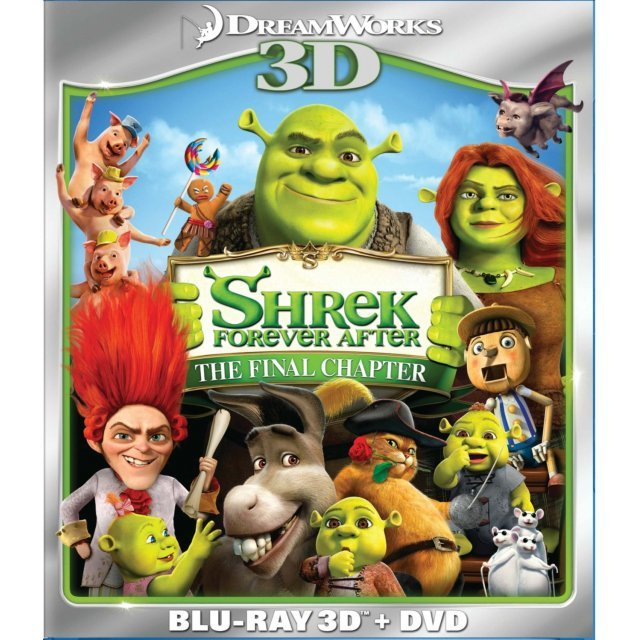 Shrek Forever After 3D [Blu-ray 3D+Blu-ray+DVD]