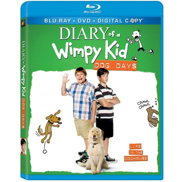 Diary of a Wimpy Kid: Dog Days [Blu-ray+DVD+Digital Copy]
