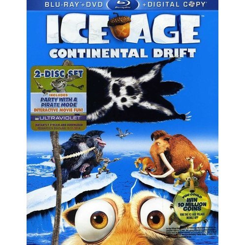 Ice Age: Continental Drift [Blu-ray+DVD+Digital Copy]