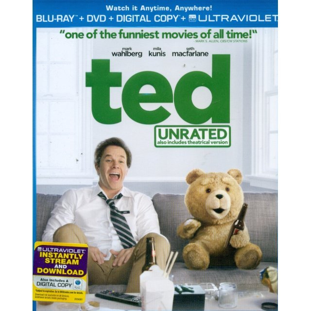 Ted [Blu-ray+DVD+Digital Copy+UltraViolet]