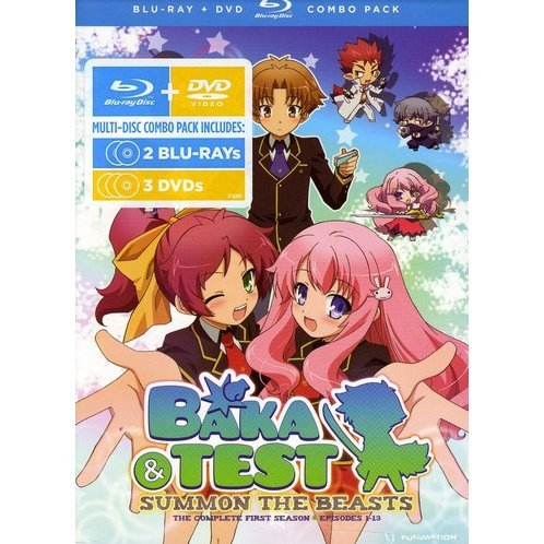 Baka & Test: Summon the Beasts - The Complete First Season [Blu-ray+DVD]