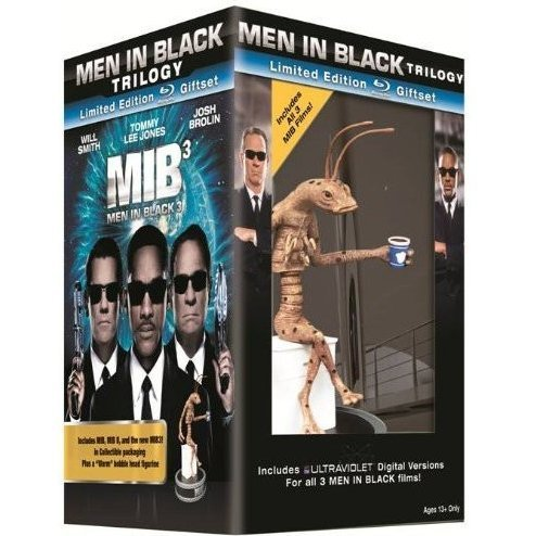 Men in Black Trilogy (Limited Edition Giftset w/ h Worm Figurine) [Blu-ray+UV Digital Copy]