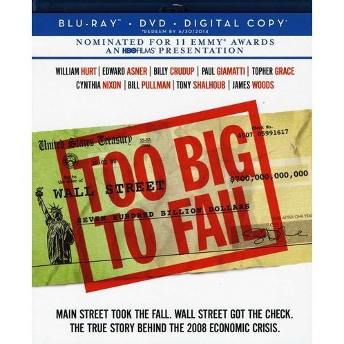 Too Big to Fail [Blu-ray + DVD + Digital Copy]